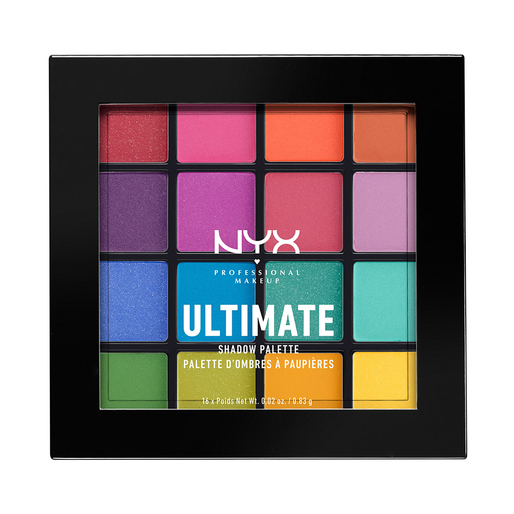 NYX Professional Makeup - Ultimate Brights paleta sijenki