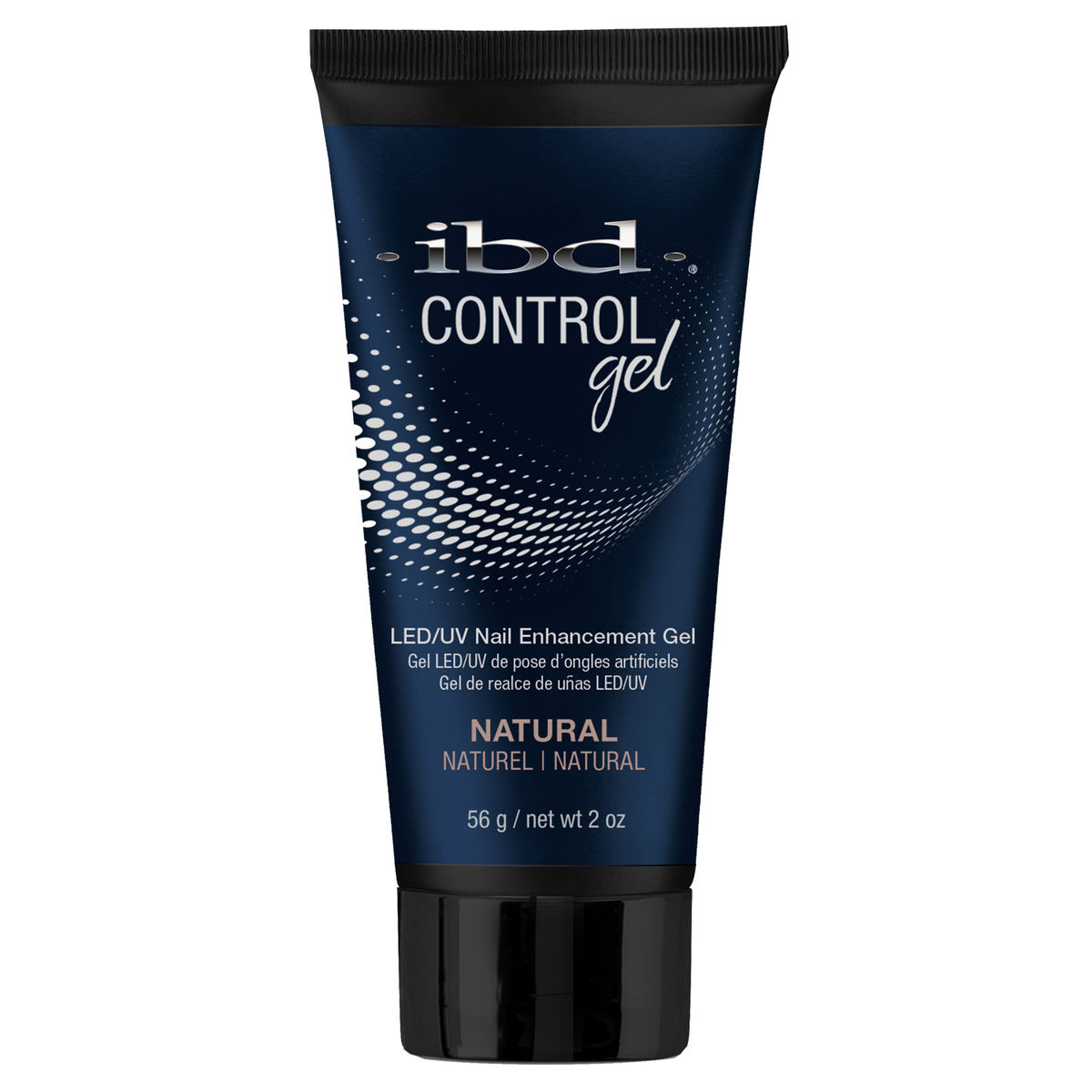 Gel za nadogradnju noktiju UV/LED gradivni kamuflažni IBD Control Gel Natural 56g