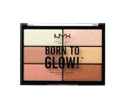 Paleta hajlajtera - NYX Professional Makeup Born To Glow