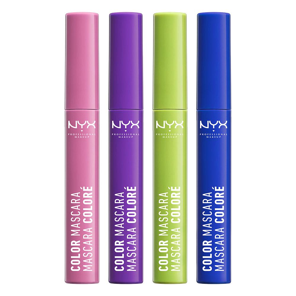 Color maskara <br/> za oči u boji