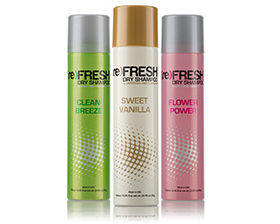 (re)FRESH šampon - verni pratilac na putovanjima